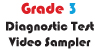 Grade 3 Math Multiple Choice Demo Video Diagnostic Test