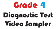 Grade 4 Math Multiple Choice Demo Video Diagnostic Test