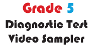 Grade 5 Math Multiple Choice Demo Video Diagnostic Test