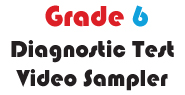 Grade 6 Math Multiple Choice Demo Video Diagnostic Test